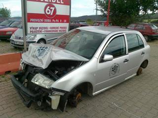 Škoda Fabia 1.4i 16V 55kW díly hatchback