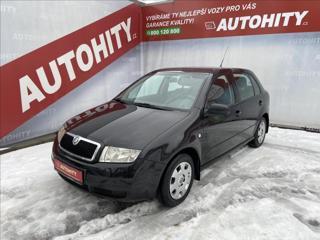 Škoda Fabia 1,4 MPi, ČR, 1.Majitel hatchback benzin