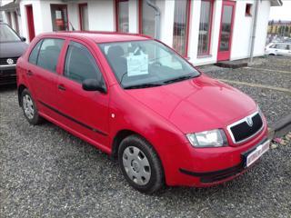 Škoda Fabia 1,2 i,pos.řízení,CZ hatchback benzin