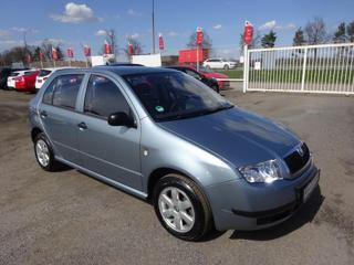 Škoda Fabia 1.4 MPi serviska, 2x kola hatchback