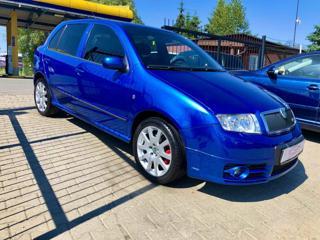Škoda Fabia 1.9TDI RS SWISS BLUE EDITION hatchback