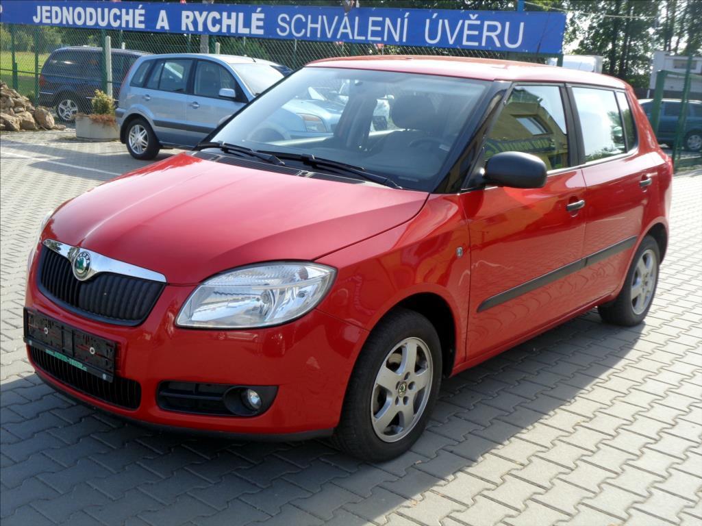 Škoda Fabia 1,2 +LPG *KLIMATIZACE* hatchback benzin