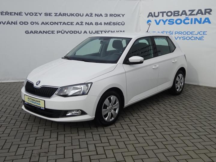 Škoda Fabia III 1.2TSi AMBITION+! ČR+1.majitel! hatchback