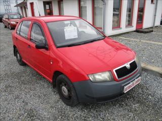 Škoda Fabia 1,0 i,koupenoČR,JUNIOR hatchback benzin