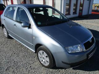 Škoda Fabia 1,4 16V, klimatizace,serviska, hatchback benzin