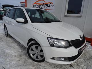 Škoda Fabia 1.4TDi,66kW,1majČR,serv.kn,tažné,DP kombi