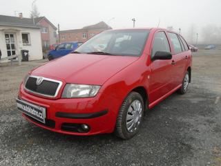 Škoda Fabia 1.9 SDI koup v ČR kombi