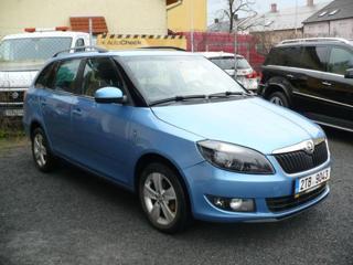 Škoda Fabia II 1.2 TSi kombi kombi benzin