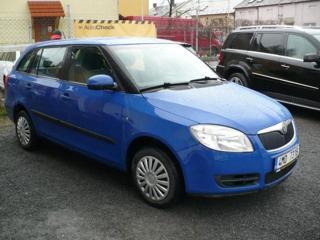 Škoda Fabia II 1.2 HTP kombi kombi benzin