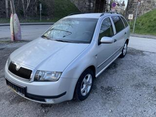 Škoda Fabia 1,9SDI,Elegnce,servisovaná kombi