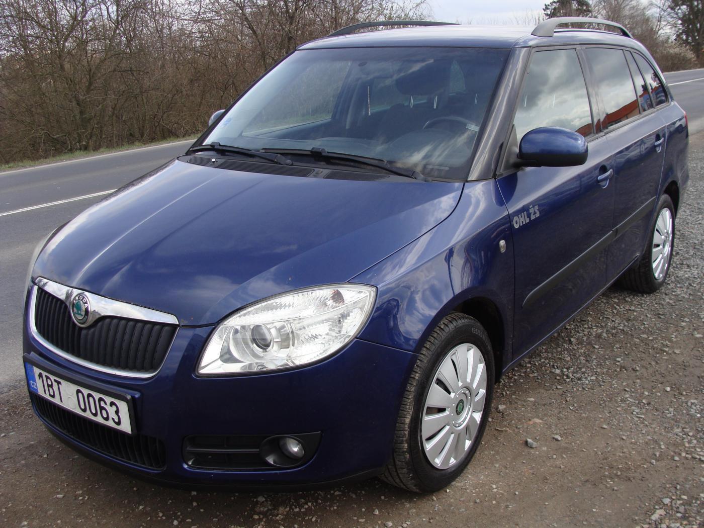 Škoda Fabia 1.4i, Kompletní serviska kombi