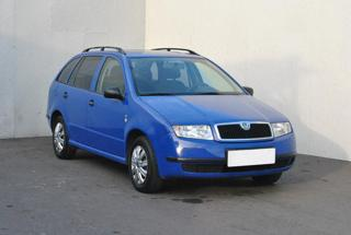 Škoda Fabia 1,4 MPI, ČR kombi benzin
