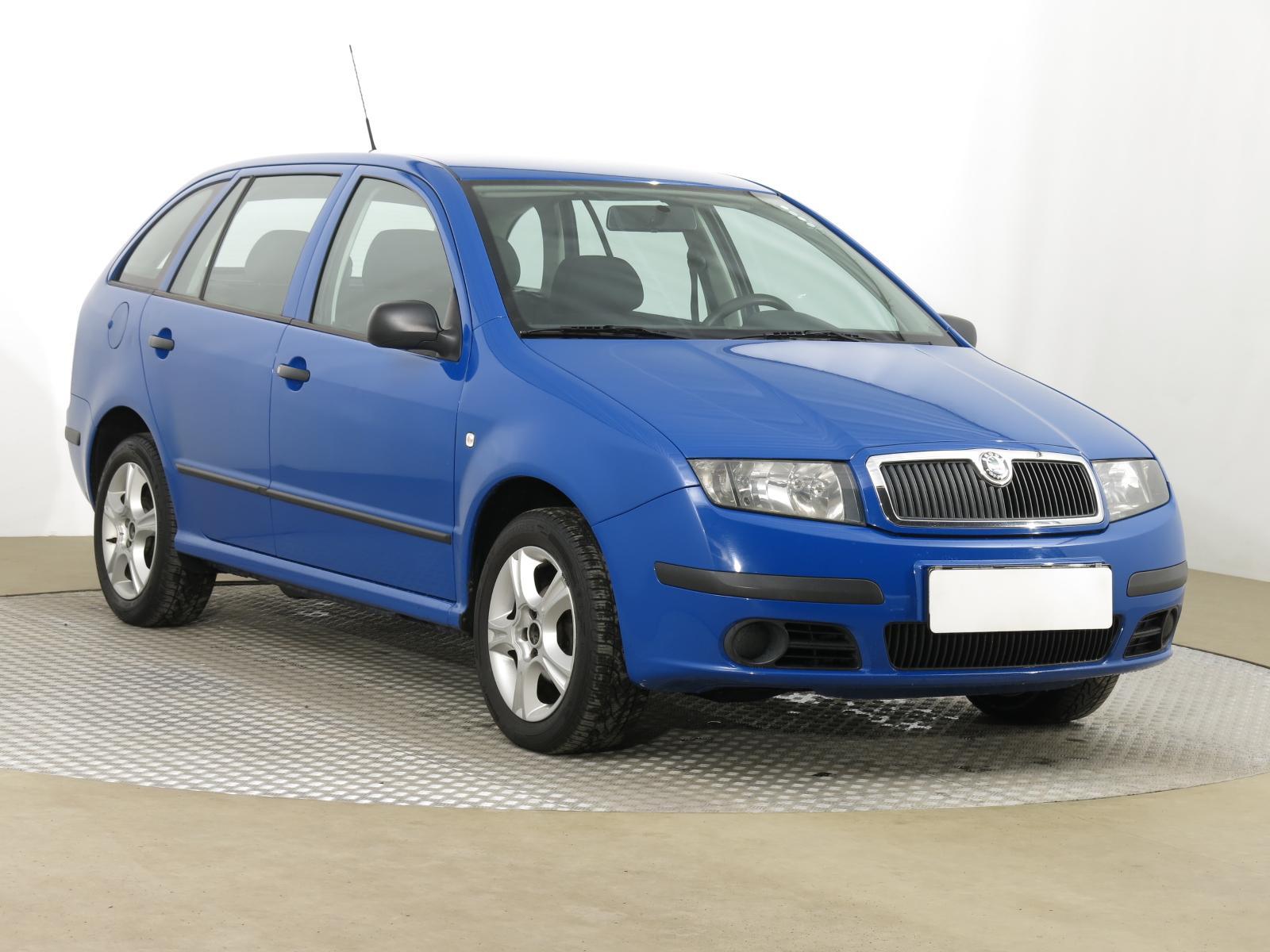 Škoda Fabia 1.2 40kW kombi benzin