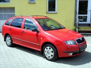 Škoda Fabia 1,2 *SERVISNÍ KNÍŽKA* kombi benzin