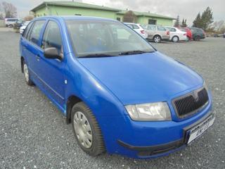 Škoda Fabia 1.2 HTP Combi kombi benzin