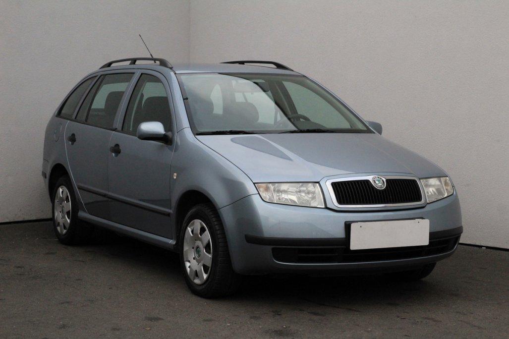 Škoda Fabia 1.2 12V kombi benzin