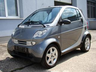 Smart Fortwo 0.8 D cabrio/automat kabriolet