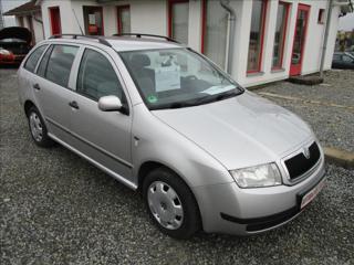 Škoda Fabia 1,4 16V, s.kniha, klima, ABS, kombi benzin