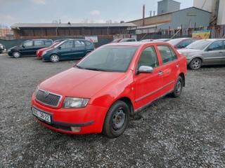 Škoda Fabia 1.4i50KW-1.MAJITEL-KLIMA-STK do 02/ sedan