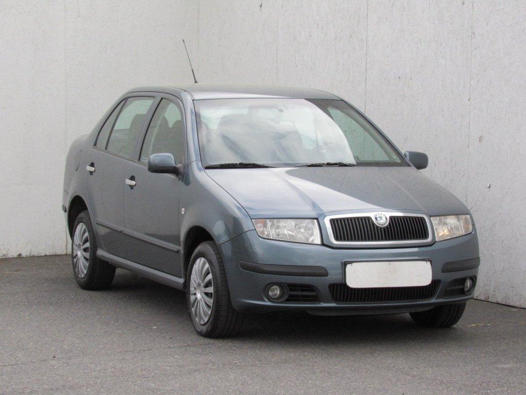 Škoda Fabia 1.4, ČR sedan benzin