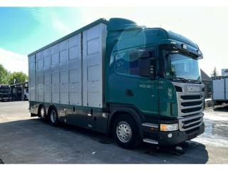 Scania 440 6x2, Dobytek pro přepravu zvířat