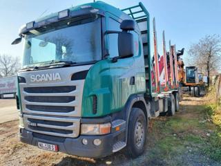 Scania G480 6x4, Lesovůz pro přepravu dřeva