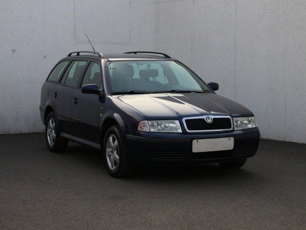 Škoda Octavia 1.6i kombi benzin