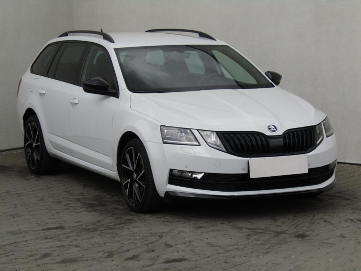 Škoda Octavia 2.0TSi, 1.maj, ČR kombi benzin