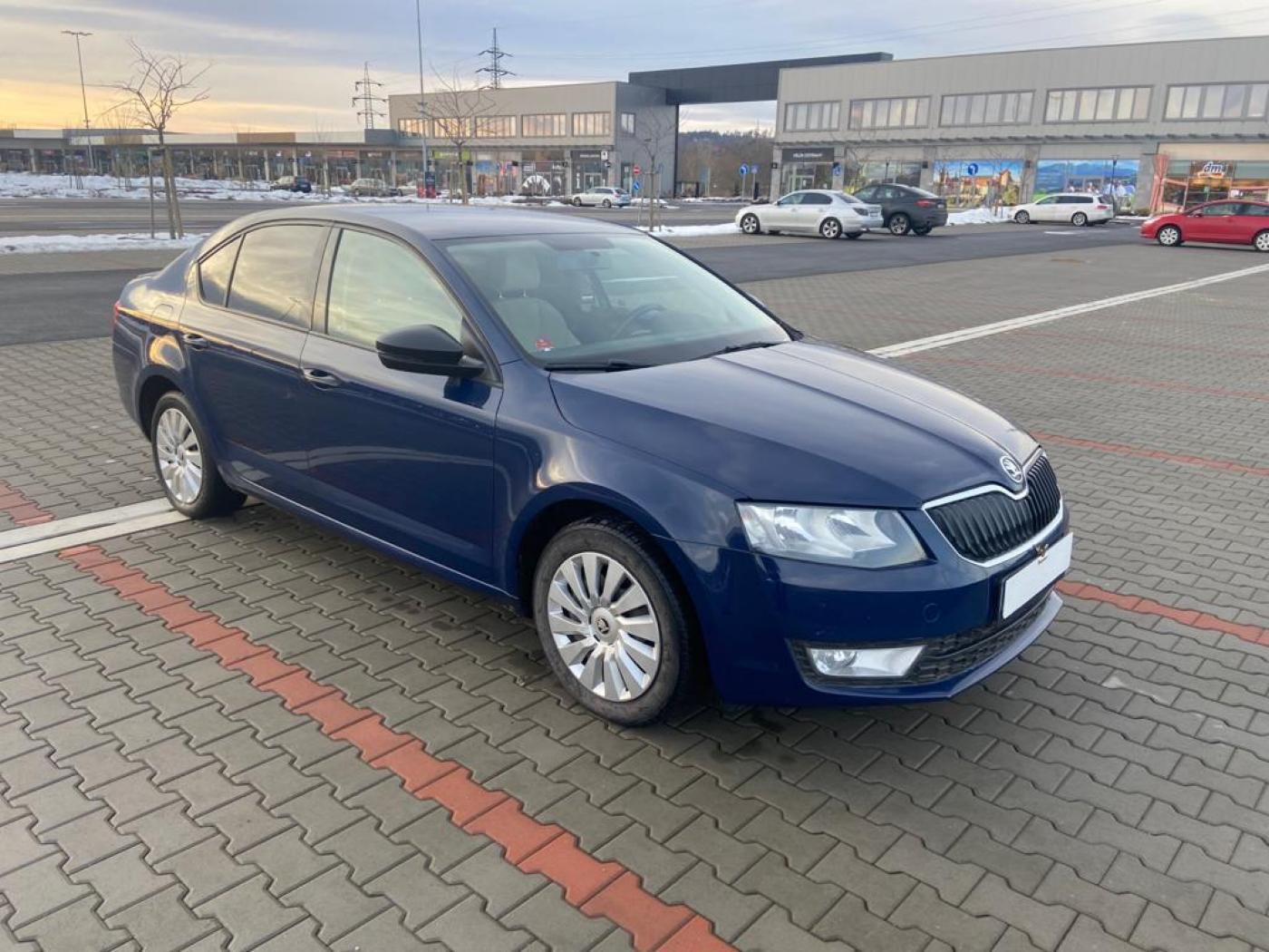 Škoda Octavia III 1.4 CNG serviska, ČR sedan