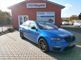 Škoda Octavia 2,0 TSI RS ČR 162 kW KRÁSNÉ sedan benzin