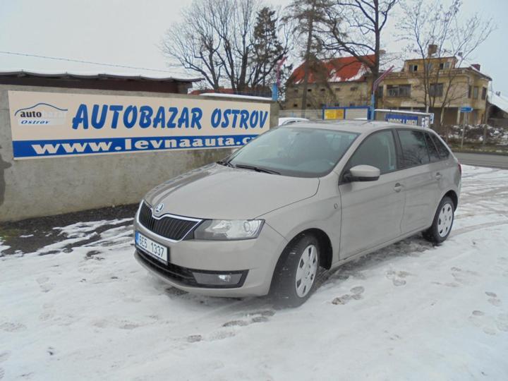 Škoda Rapid 1.2 TSI  77KW  ZADÁNO hatchback