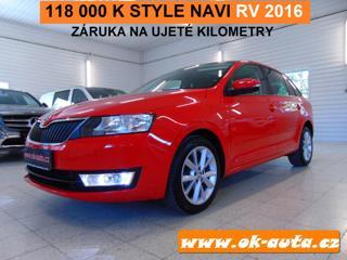 Škoda Rapid 1.6 TDI STYLE ZÁRUKA MOBILITY hatchback