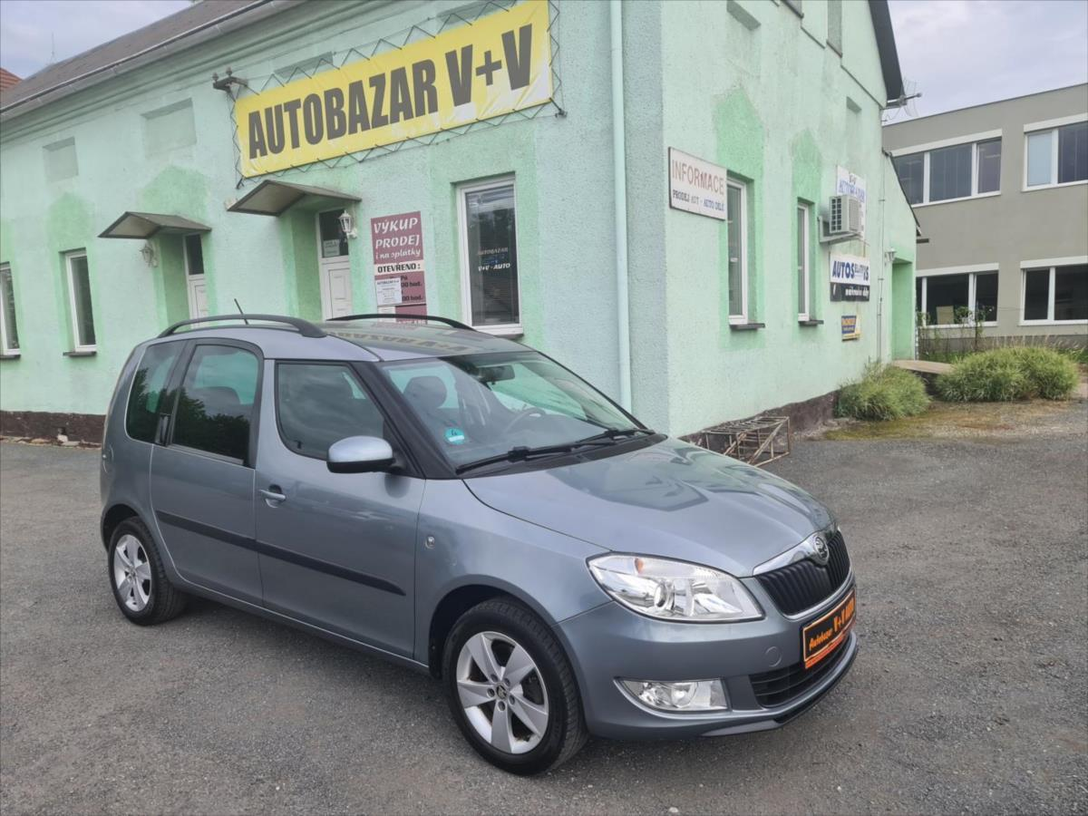 Škoda Roomster 1,2 TSi AMBITION kombi benzin