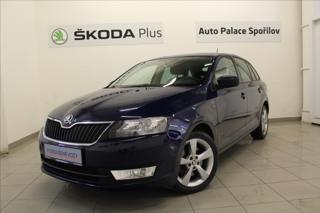 Škoda Rapid 1,6 TDi Style+  AutoAC 1.ČR liftback nafta