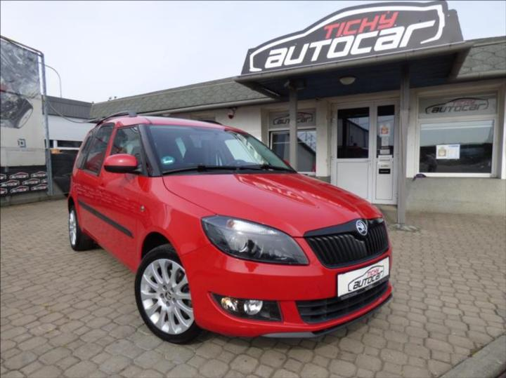 Škoda Roomster 1,6 TDI,Digi Klima,Panorama,serviska  Best of MPV nafta