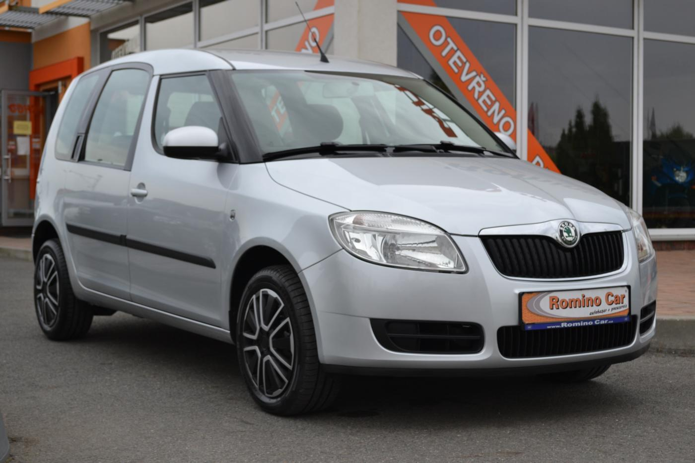 Škoda Roomster 1.9TDi Servisní kniha MPV