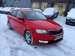 Škoda Rapid 1,2 TSi 63kW ČR SERVISNÍ KNIHA sedan benzin
