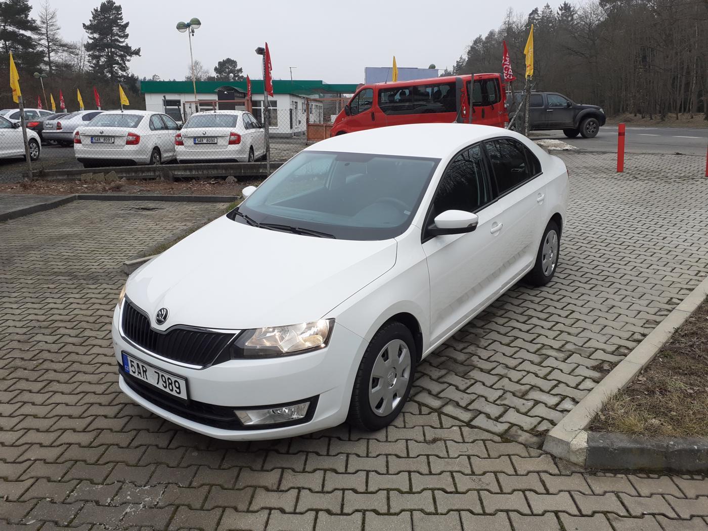 Škoda Rapid 1.2TSi,Čr,1.Maj,DPH sedan