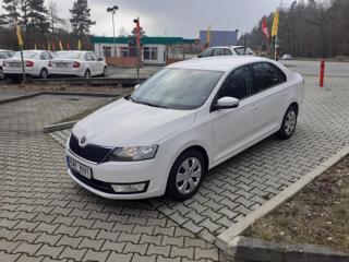 Škoda Rapid 1.2TSi,Čr,1.maj.DSG,DPH sedan