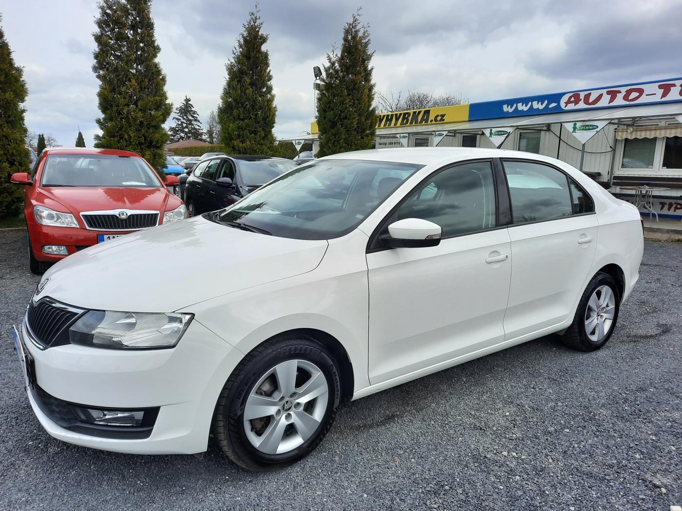 Škoda Rapid 1.6TDI 85kW ČR,1.MAJ.SER.KNIHA sedan