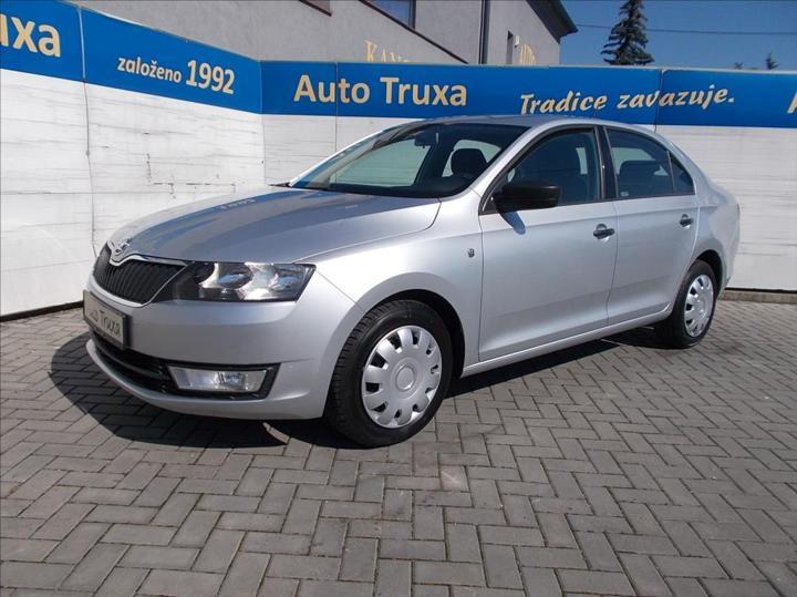 Škoda Rapid 1,6 TDi 66kW ACTIVE+ 1.majitel sedan nafta