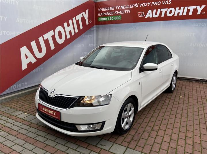 Škoda Rapid 1,6 TDi, Ambition, ČR, sedan nafta
