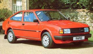 Škoda Rapid 1988, 1360 ccm sedan