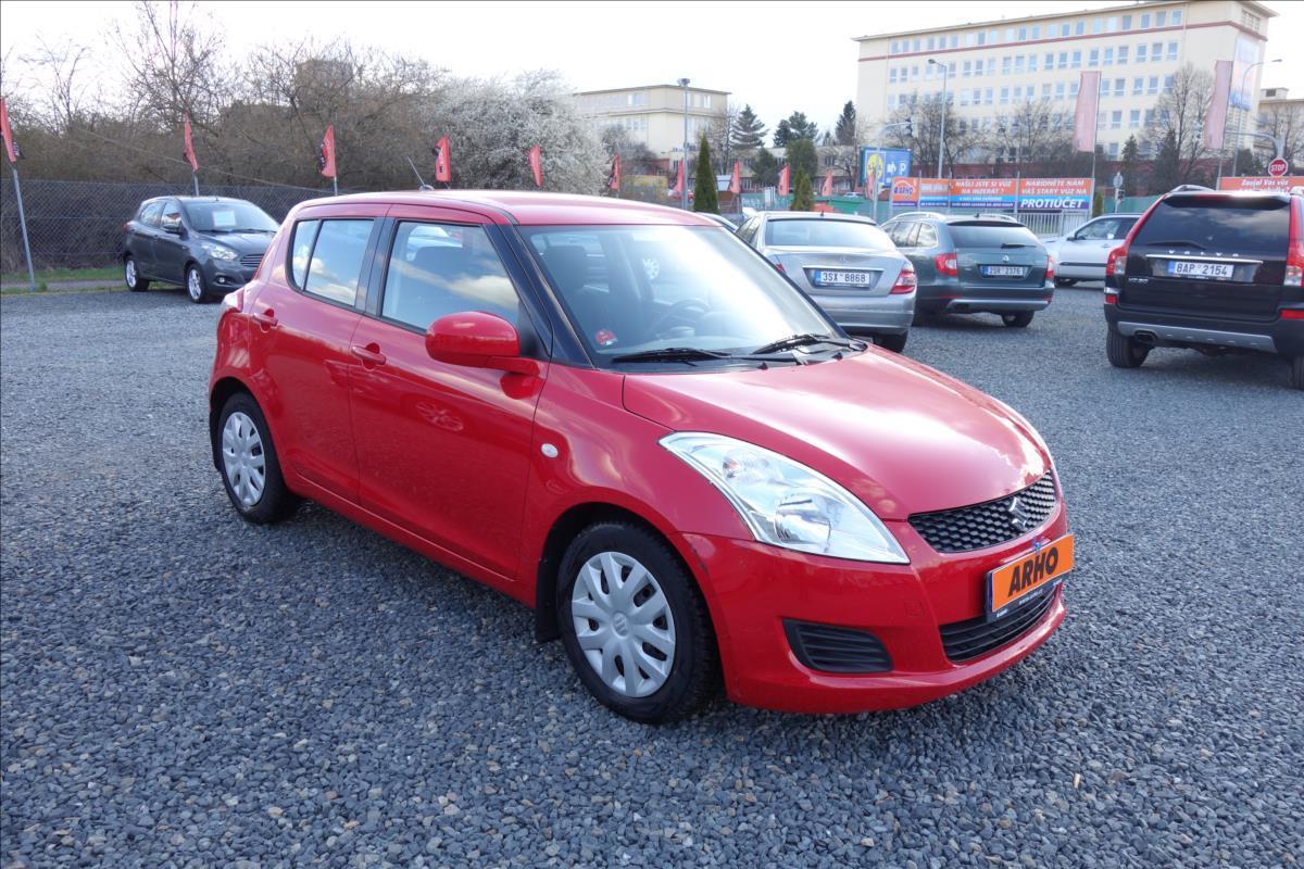 Suzuki Swift 1,2 i GL/AC,ČR,1 MAJ.,AUTOMAT. hatchback benzin