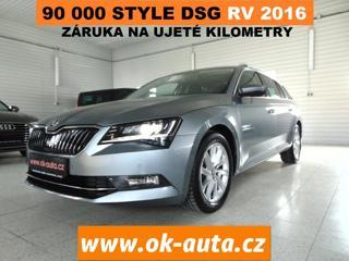 Škoda Superb 2.0 TDI STYLE DSG 90 000 KM kombi