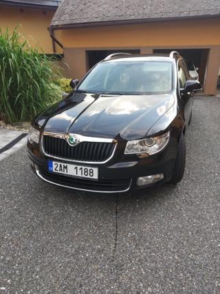 Škoda Superb II Combi 2.0TDI,125kW Elegance,Boha kombi