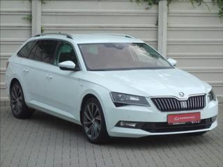 Škoda Superb 2,0 TDi 140kW DSG 4x4 L&K odv.sed. ČR 1.maj CR DPF DSG Laurin & Klement kombi nafta