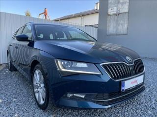Škoda Superb 2,0 TDI Style,ČR.1.Majitel kombi nafta