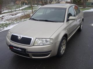 Škoda Superb 1.9 TDI PD Comfort limuzína