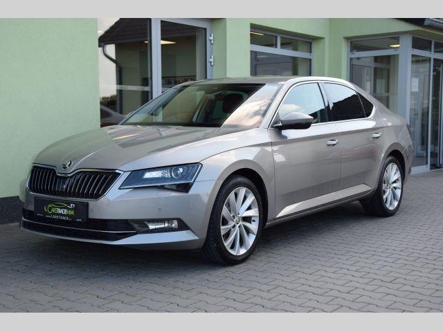 Škoda Superb 2,0TDI STYLE*140KW*ZADÁNO liftback nafta